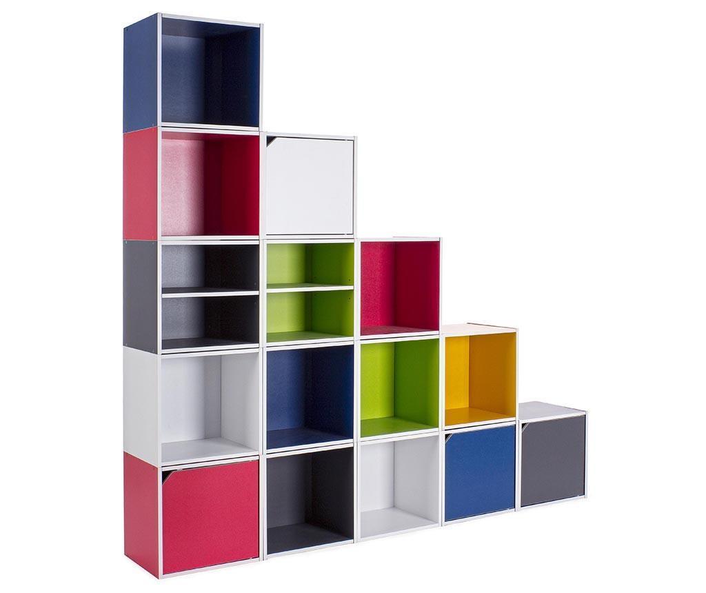 Modularni element Cube Door Grey