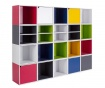 Modularni element Cube Door Red