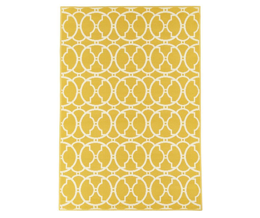 Covor Interlaced Yellow 133x190 cm