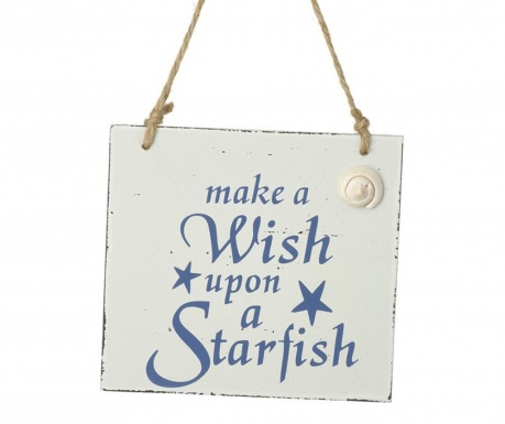 Viseći ukras Make A Wish