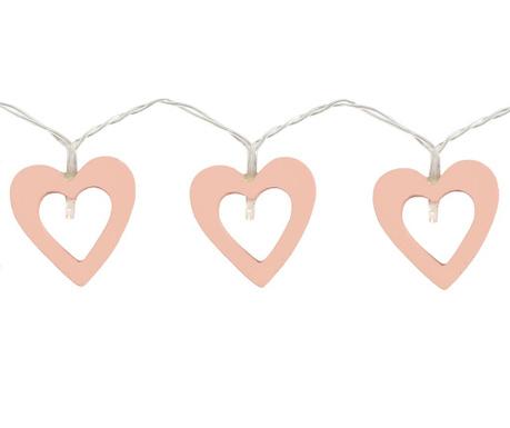 Svetelná girlanda Hearts