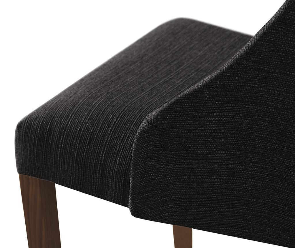 Set 4 scaune Absolu Brown Anthracite