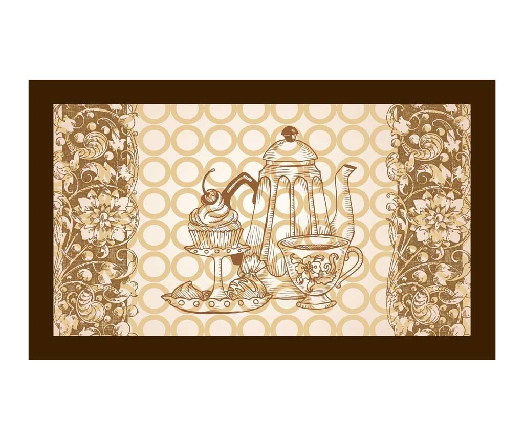 Tea Time Lábtörlő szőnyeg 45x75 cm