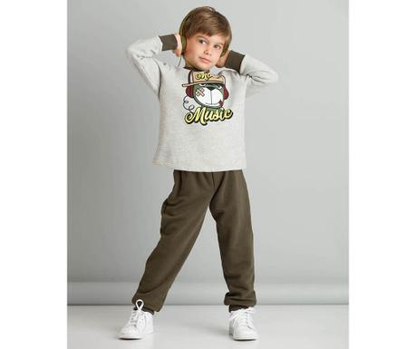 Otroški komplet - majica in hlače More Music 4 let