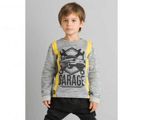 Bluza cu maneca lunga pentru copii Garage 8 ani