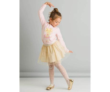 Set fusta si bluza copii Ballerina 3 ani