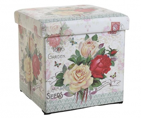 Zložljiva pručka Garden Roses