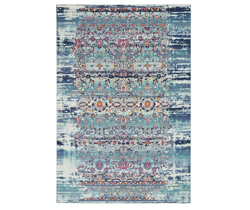 Tepih Flower River Blue 122x183 cm