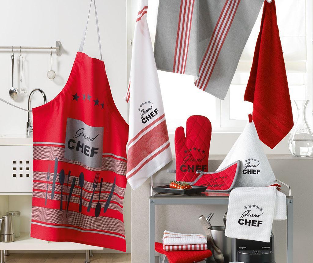 Set manusa de bucatarie si suport pentru vase fierbinti Chef Etoile