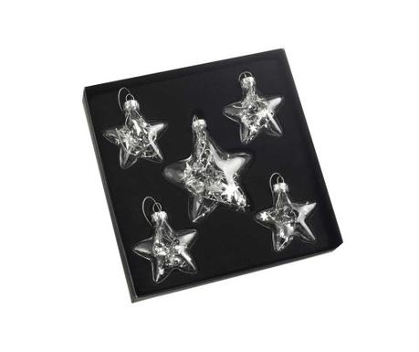 Set 5 visećih ukrasa Stars