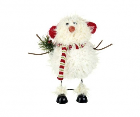 Decoratiune Fulffy Snowman