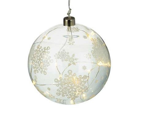 Glob decorativ Snowflake
