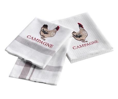 Комплект 2 кухненски кърпи Coquette 50x70 см