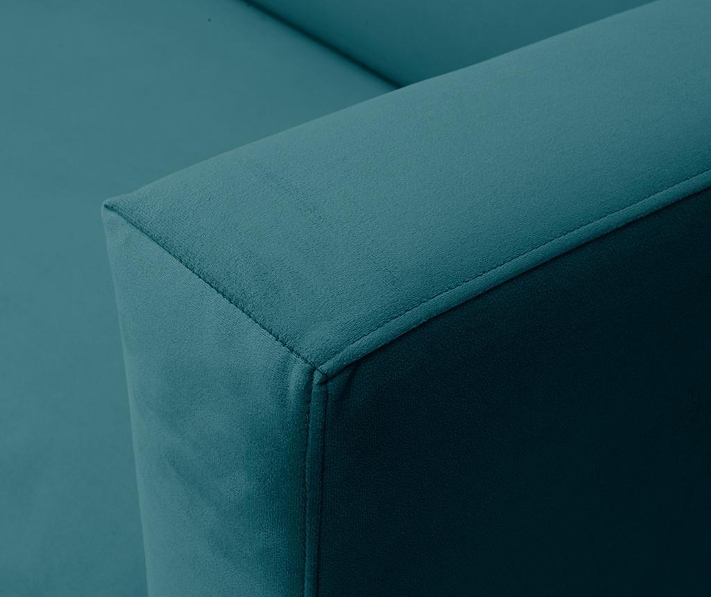 Canapea 3 locuri Neptune Turquoise