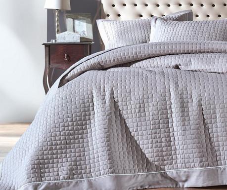 Diamond  Grey Egyszemélyes steppelt ágytakaró garnitúra