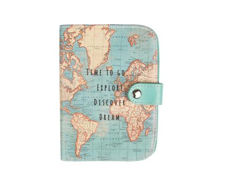 Ovitek za potni list Vintage Map