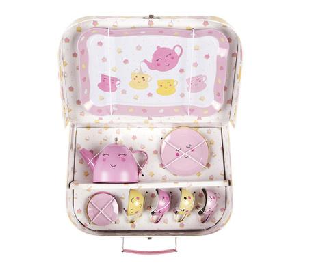 Set igrač - piknik škatla z dodatki Happy Picnic