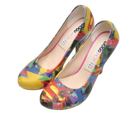 Pantofi dama Super Polygon