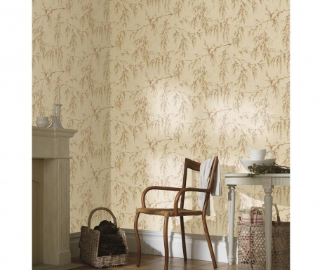 Tapeta Willow Tree Neutral Rust 53x1005 cm