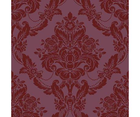 Stenska tapeta Palais Scarlet 53x1005 cm