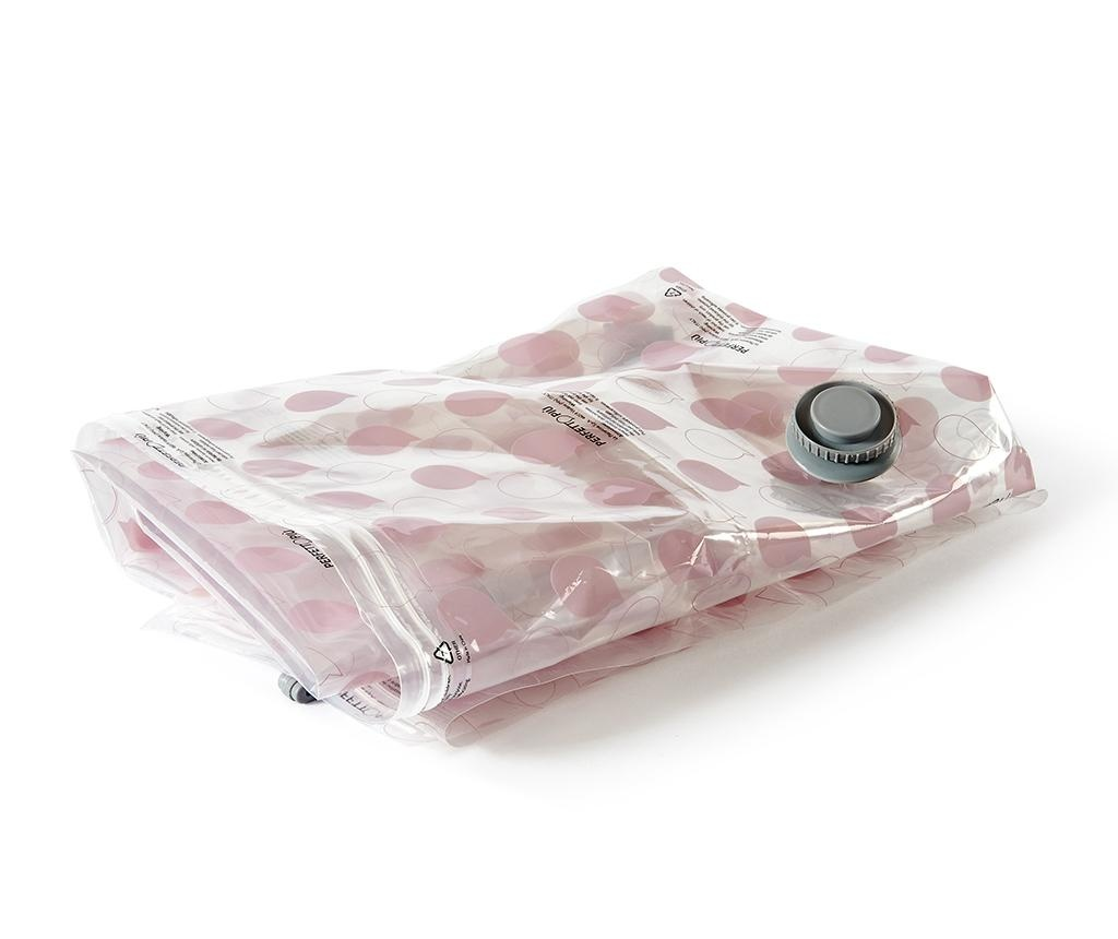 Sac pentru vidat Riducispazio Pink 60x90 cm