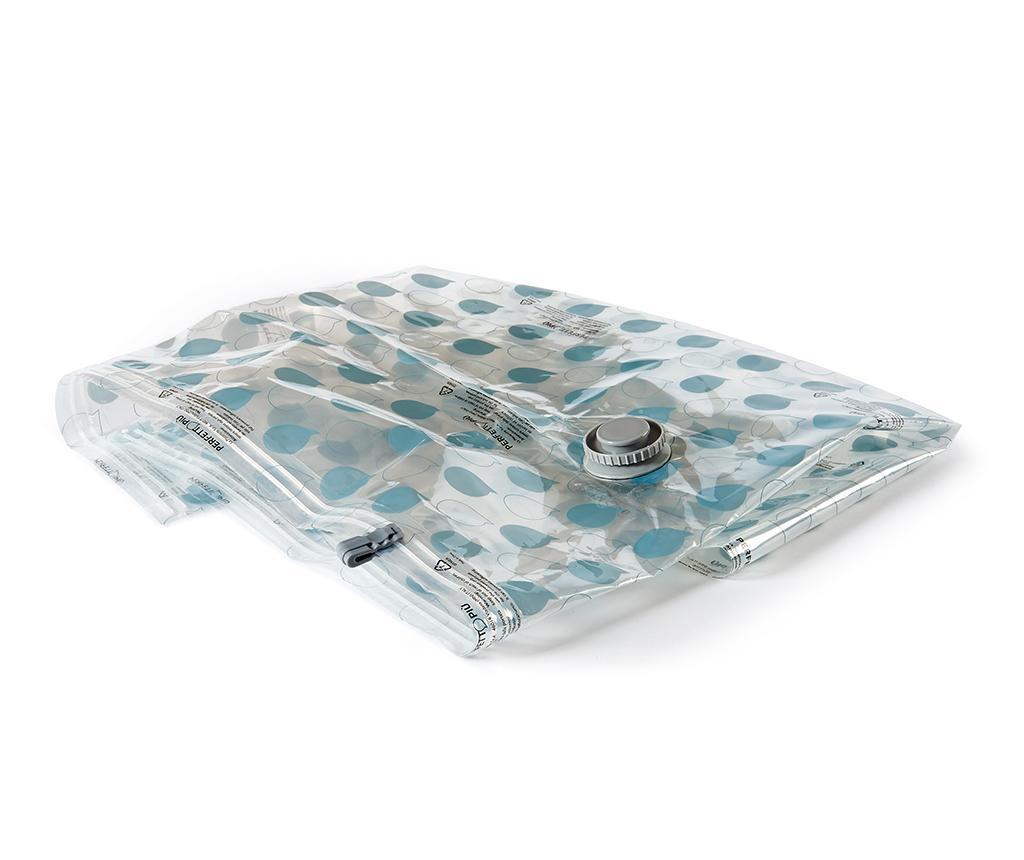 Vakuumsko tesnilna vreča za oblačila Riducispazio Blue 60x90 cm