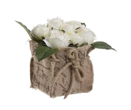Umjetni cvijet u posudi Cremaia