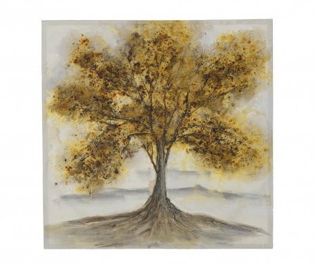 Slika Tree Crown 100x100 cm