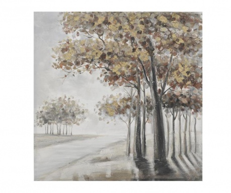 Slika Trees On The Hill 100x100 cm