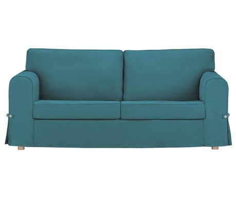Canapea 3 locuri Morgane Turquoise