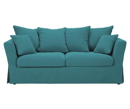 Canapea 3 locuri Helene Turquoise