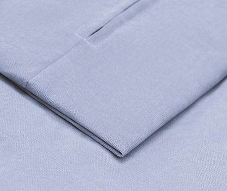 Калъф за разтегателно триместно канапе Philippe Blue 90x207 см