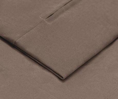Navlaka za kauč trosjed na razvlačenje Morgane Brown 90x192 cm