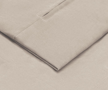 Prevleka za raztegljiv trosed Helene Beige 100x194 cm