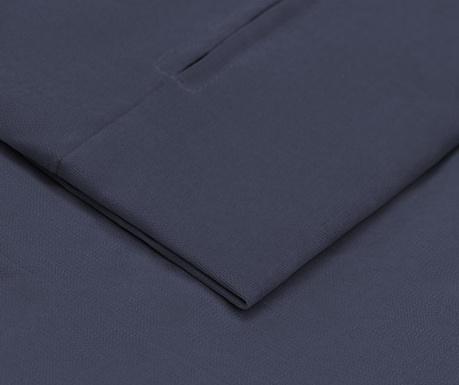 Husa pentru canapea extensibila 3 locuri Helene Dark Blue 100x194 cm