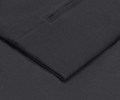 Prevleka za raztegljiv trosed Jean Dark Grey 90x187 cm