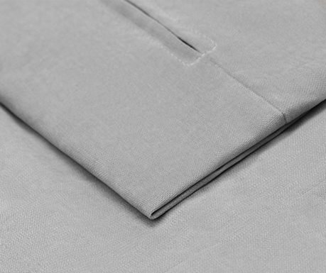 Navlaka za desnu kutnu garnituru Helene Light Grey 177x271 cm