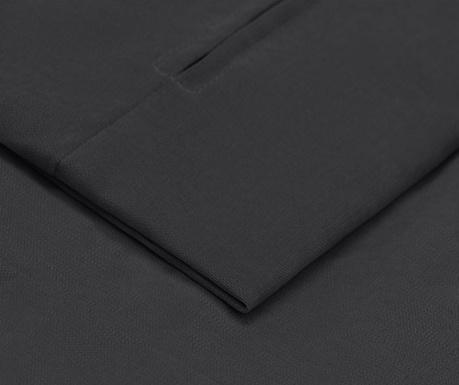 Prevleka za levo kotno sedežno garnituro Helene Dark Grey 177x271 cm