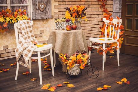 Есен на балкона