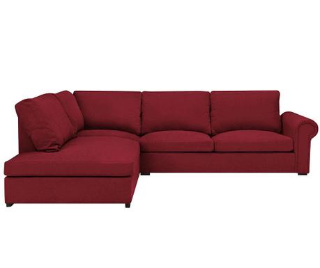 Ляв ъглов диван Antoine Red