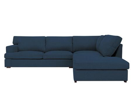 Десен ъглов диван Charles Blue