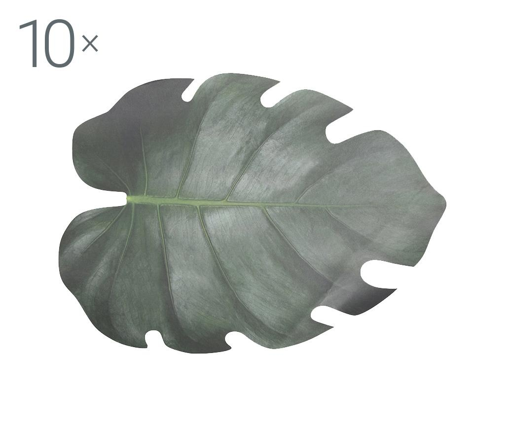 Sada 10 prostírání Marley 32.8x46.2 cm