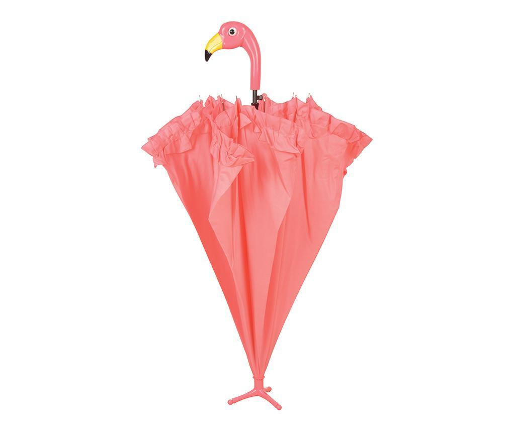 Umbrela Flamingo With Ruffles