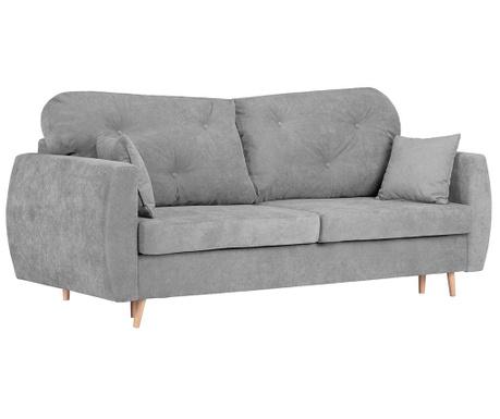 Canapea extensibila 3 locuri Viola Light Grey