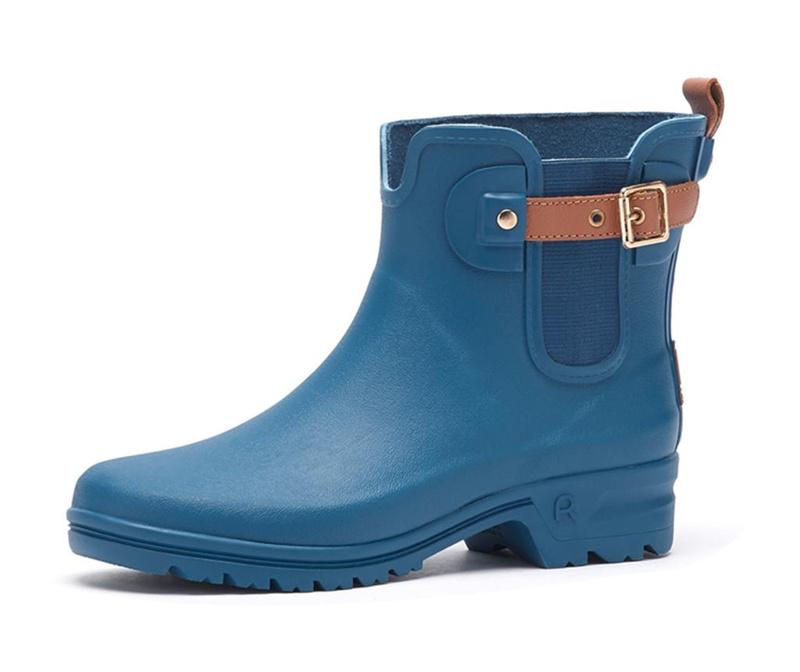 Cizme de ploaie dama Bottillon Blue 37