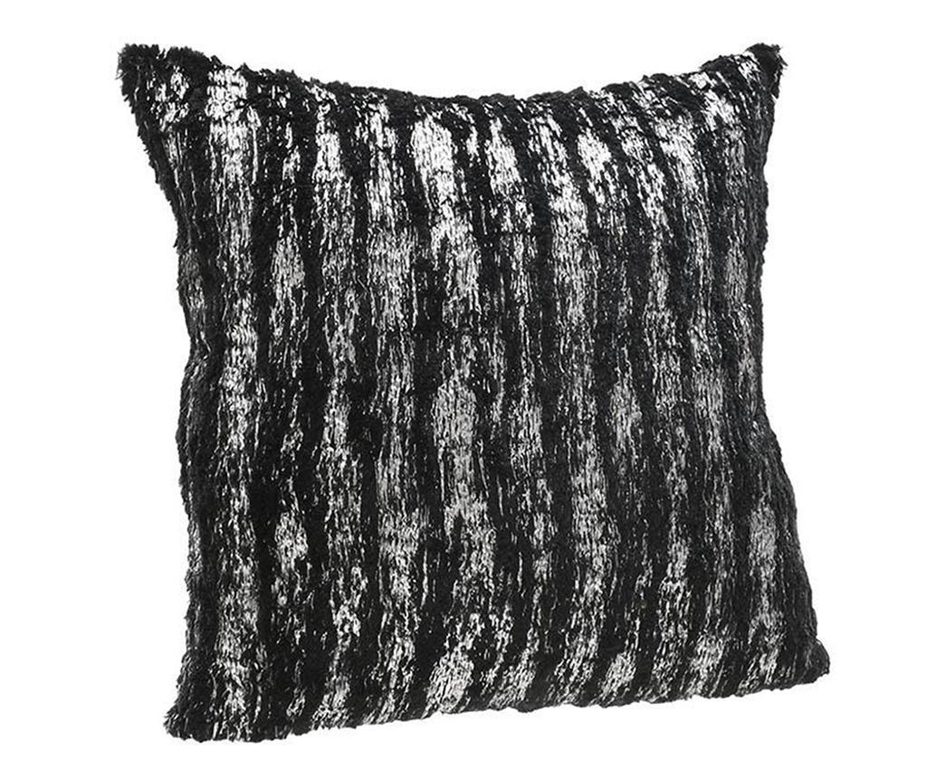 Perna decorativa Imogen Black Silver 45x45 cm