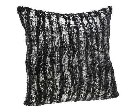 Dekorační polštář Imogen Black Silver 45x45 cm