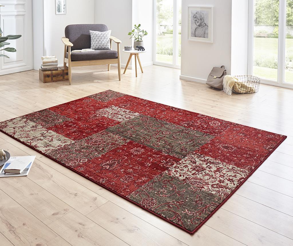 Covor Kirie Red Brown 80x150 cm