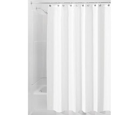 Zasłona prysznicowa Liner White 183x183 cm