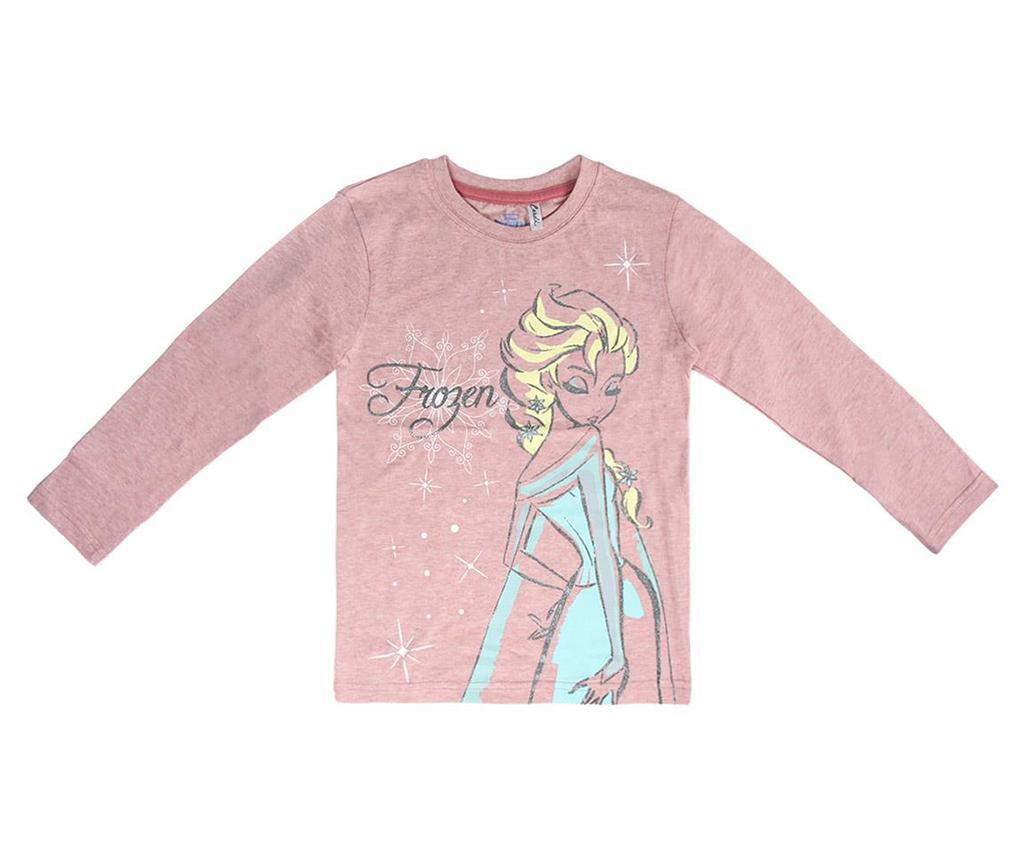 Bluza cu maneca lunga copii Frozen Elsa 5 ani